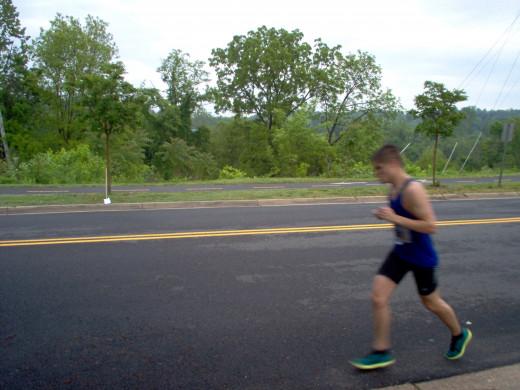 Half Marathon Runners (7 of many)