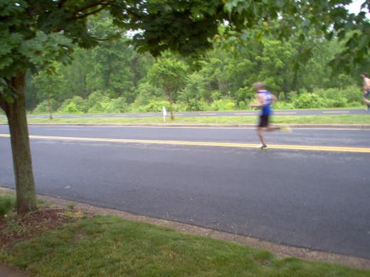 Half Marathon Runners (9 of many)