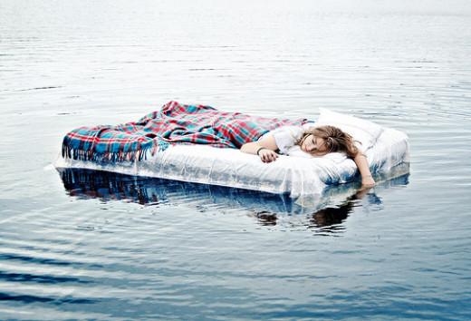Sleep and Water
