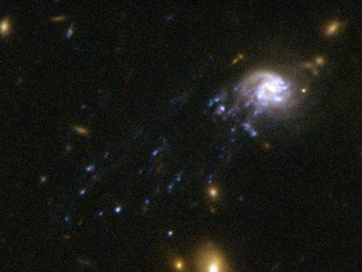 This Galaxy is two billion light years from earth.