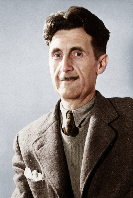 Eric Blair, writing under the pseudonym George Orwell, invented many terms that became common usage in the English language, including Cold War, Big Brother and Thought Police.