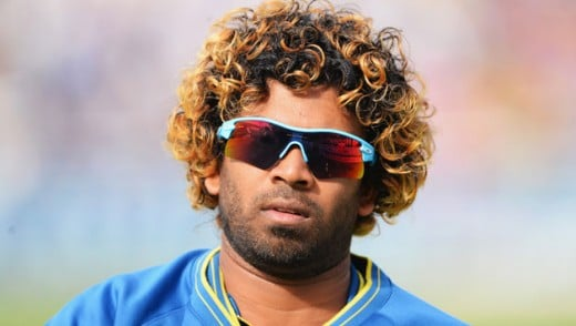 Famous Cricketer Lasith Malinga With Dyed Hair