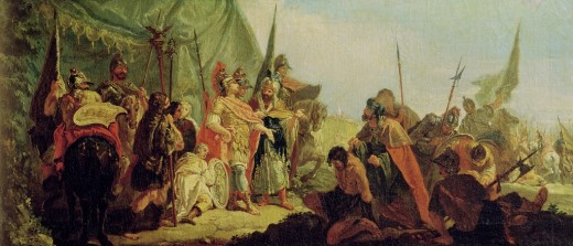 Alexander The Great Wearing Colored Clothes