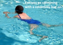 How to Go Swimming With a Colostomy Bag On