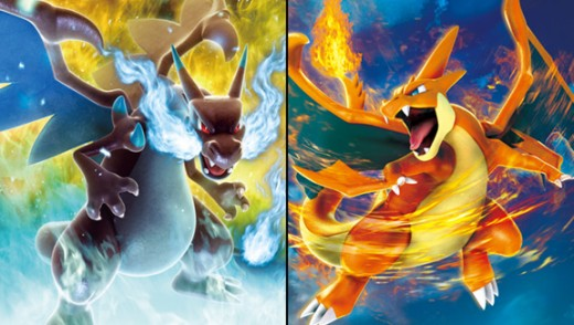 Mega Charizard X and Y