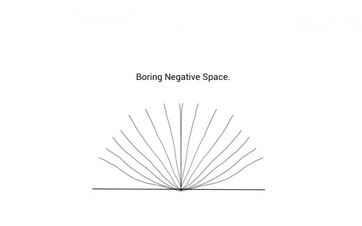 Boring Negative Space