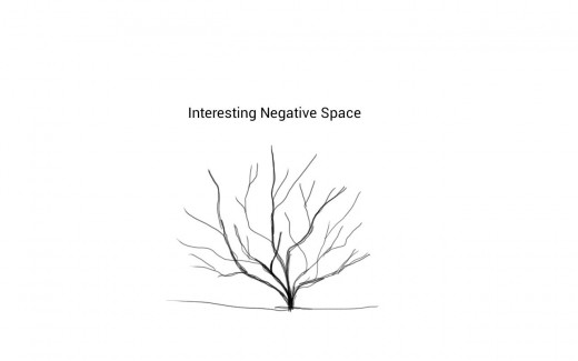 Interesting Negative Space