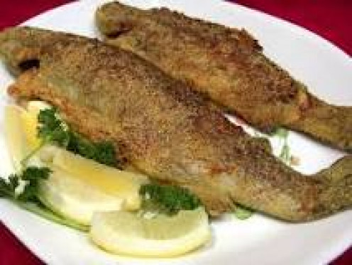 Fried trout.