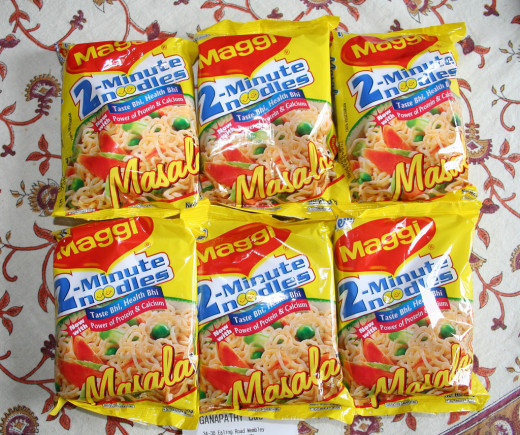 Instant Maggi 2 Minute Noodles