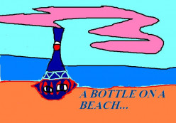 The American television show I Dream of Jeanie began with a bottle on a beach.