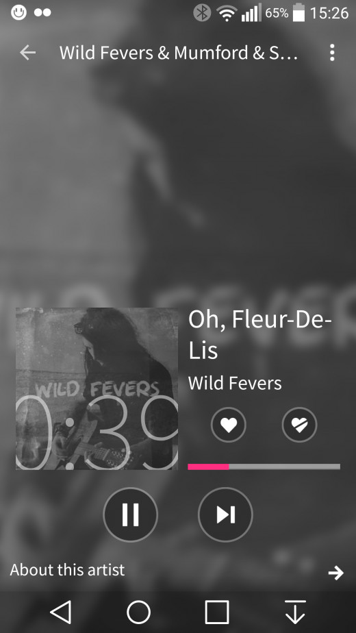 Mix Radio Screenshot