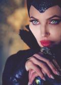 Maleficent: Angelina Jolie Disney movie.