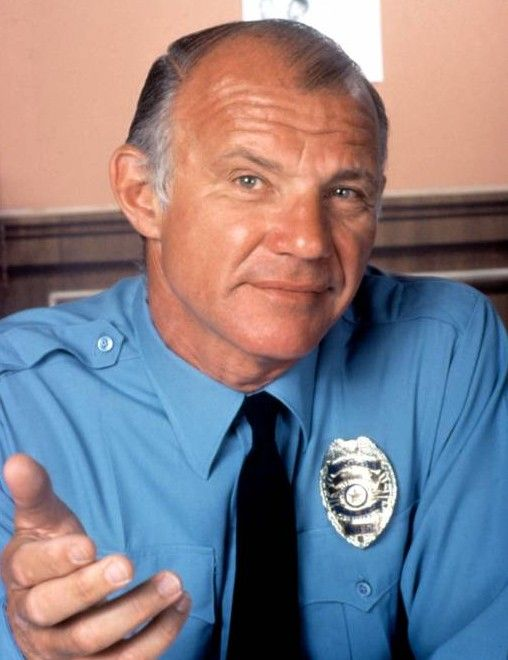 Sergeant Phil Esterhaus (Michael Conrad) in Hill Street Blues