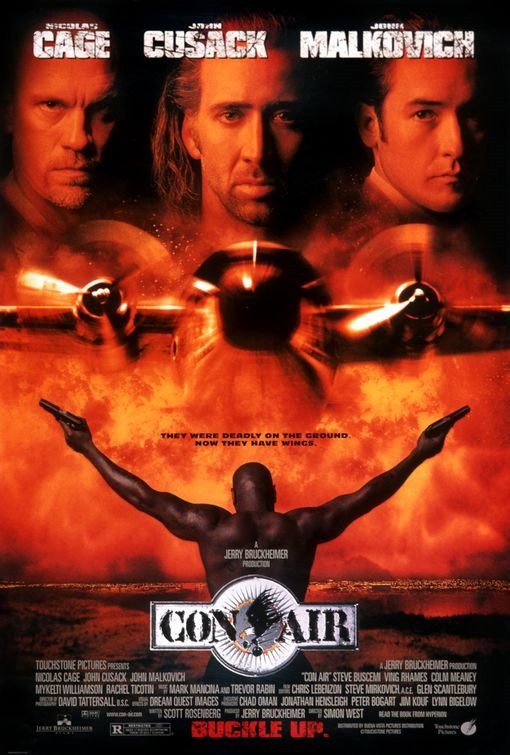 "US poster for ""Con Air"""
