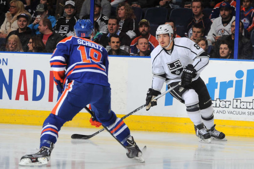 LA King's Drew Doughty led all players in the regular season with an Corsi rating of 410.