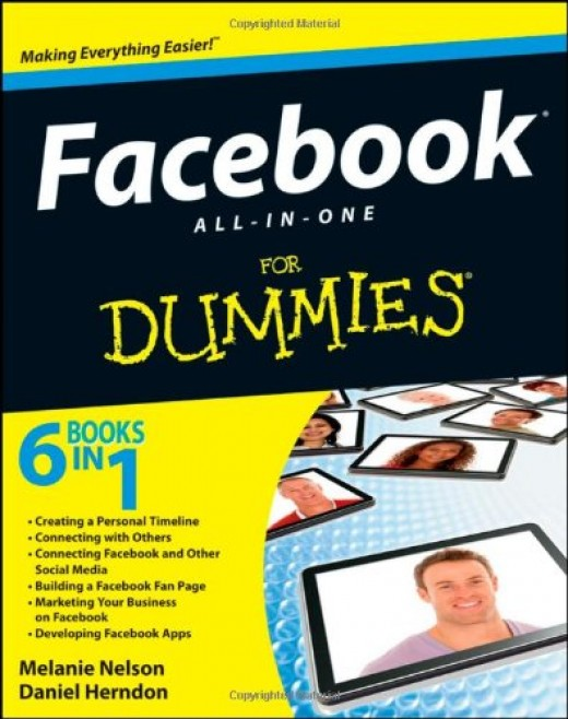 Facebook All-in-One For Dummies: packed with helpful information, great ideas, and ways to help you get even more out of Facebook.
