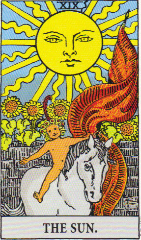Tarot images copyright US Games Inc. Used with permission.