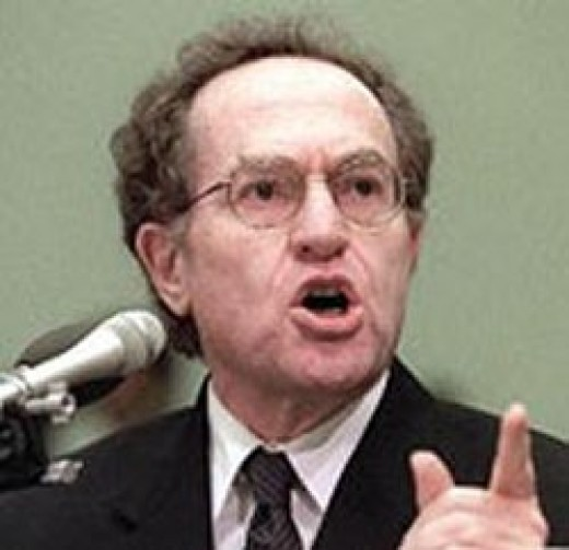 Alan Dershowitz,  Vocal, Angry Self-righteous Carter Critic