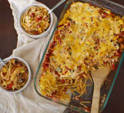 Meatless Italian Spaghetti