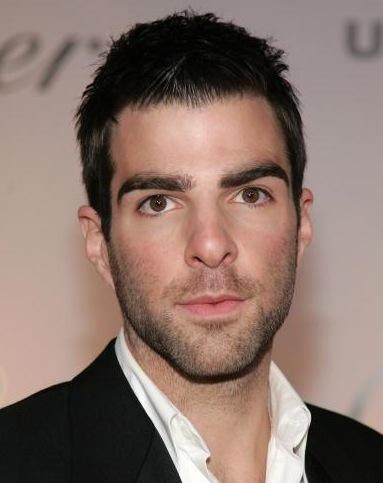 Zachary Quinto plays Mr Spock