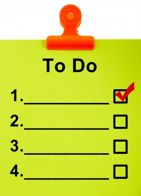 There is so much to do when moving that a list can help you stay organized.
