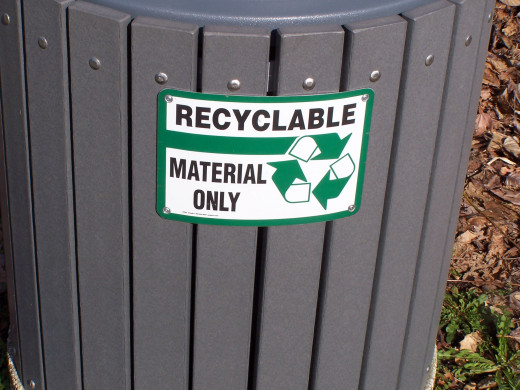 Do you have more recycled material than you do finished product?