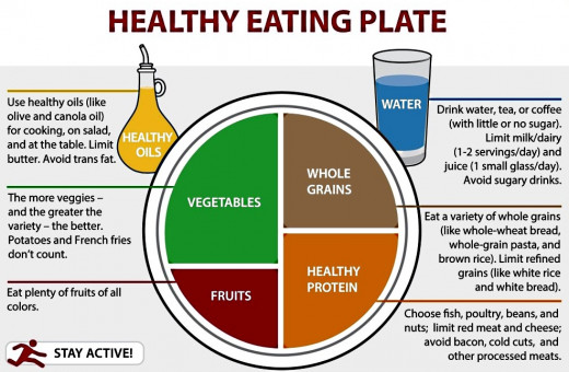 American MyPlate Food Guide