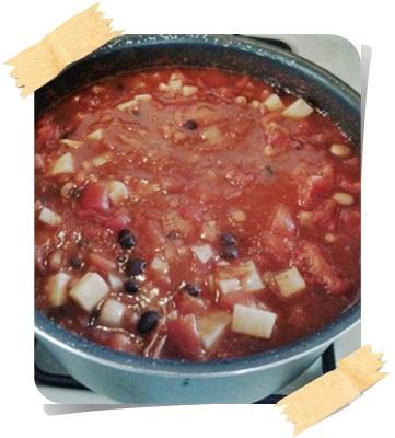 Vegan Chili Beans.