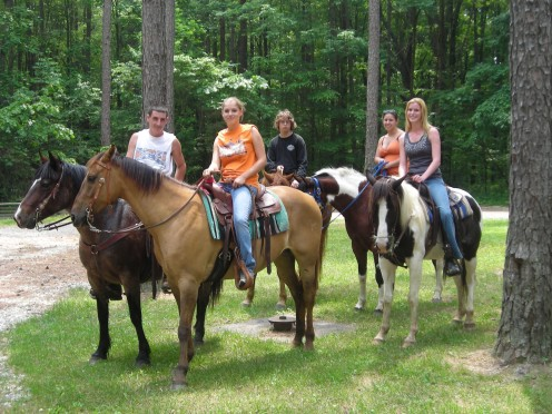 FACT: on each outing as a horseback rider, you will learn something new about your horse and nature.