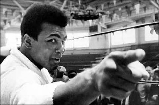 Muhammad Ali is one of if not the most famous athletes in the history of sports. Ali won the heavyweight championship three times during his fabulous career.