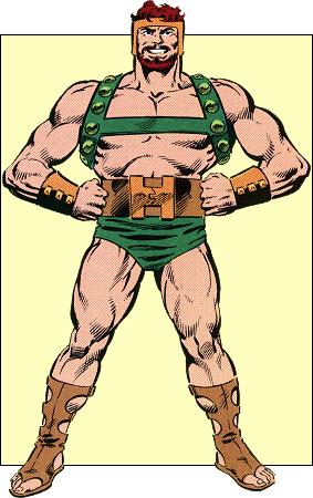 Like Thor, Hercules was based on a mythlogical character.