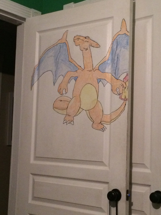 This is my bedroom door!