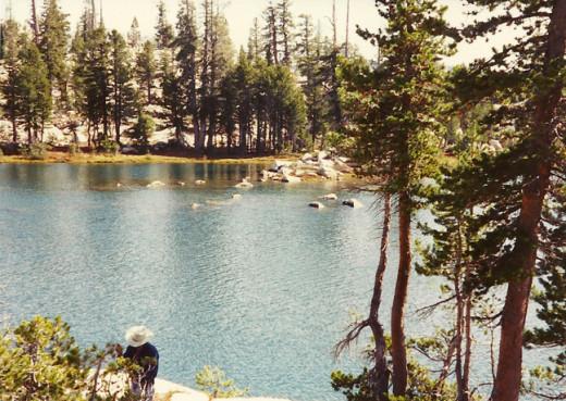 Beautiful high country, California.