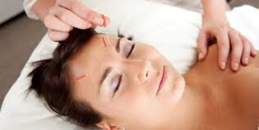 """In acupuncture and acupressure, needles or pressures are applied with the meridian which is a belief about a path through which the life-energy known as """"qi"""" flows."""