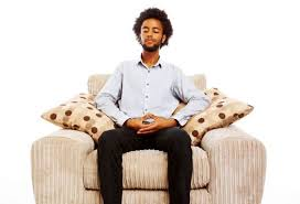 Meditation works! Just be still and silence your mind. Just watch and allow headache to subside.