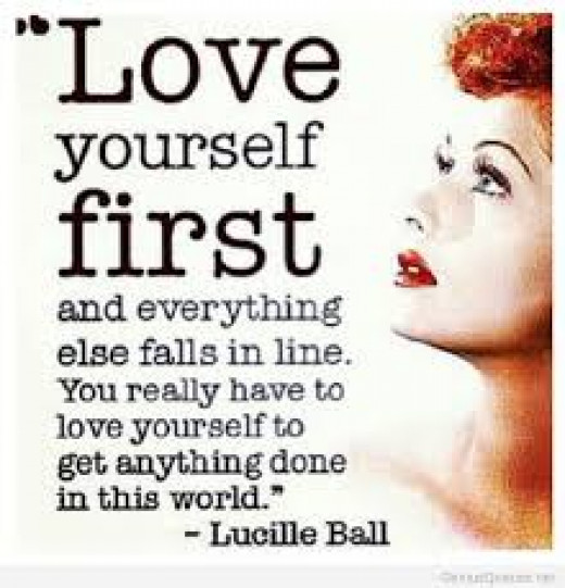 The healing or cure to any sickness starts from truly loving yourself.