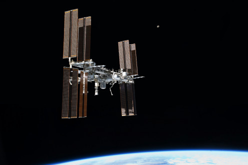 The Libration point could look something like the International Space Station.