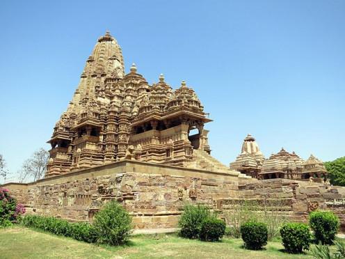 Two Temples of Khajuraho Monuments