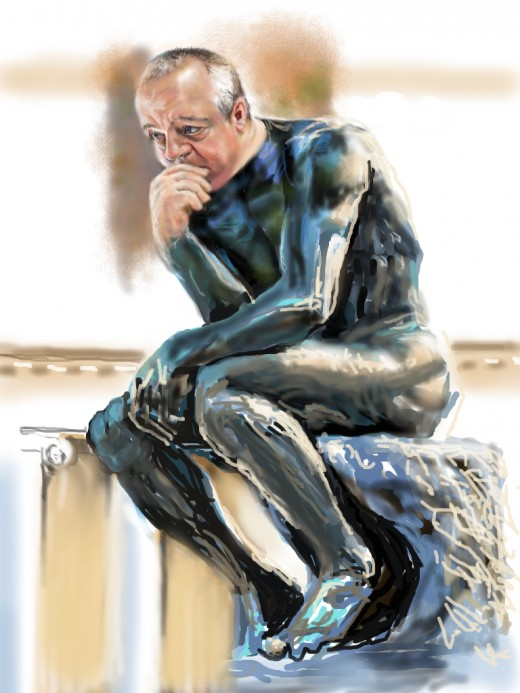 """""""The Thinker for JKPP"""" (updated thinker)"""