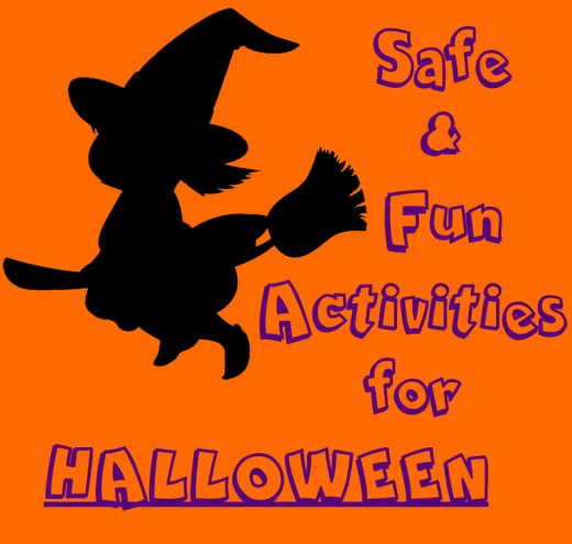 Safe and FUN activities for Halloween!