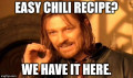 Easy Chili Recipe with Optional Extras