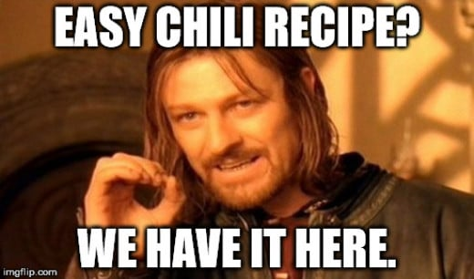 Best  Beginner Easy Homemade Chili Recipe - We have it here