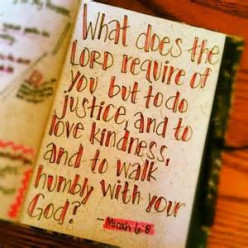 What Does the Lord Require of Us?