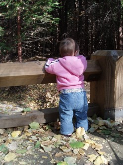 This little girl has always lived her own life from the very very beginning.  She is now eight, and  I am looking forward to watching her continue to live her own life.