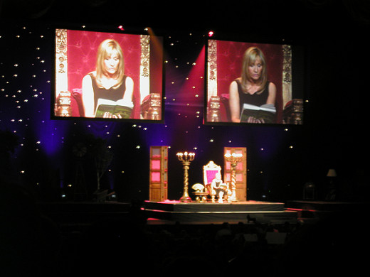 Author Rowling Doing a Reading