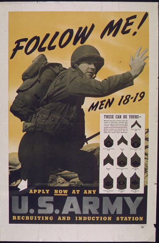 Follow Me Men of 18 - 19 U.S. Army NARA 513646.jpd CC-PD-Mark/PD US Government