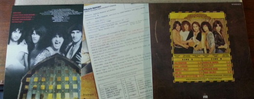 "The LP-style cardboard disc sleeves even feature ""side one"" and ""side two"" info on the back covers!"