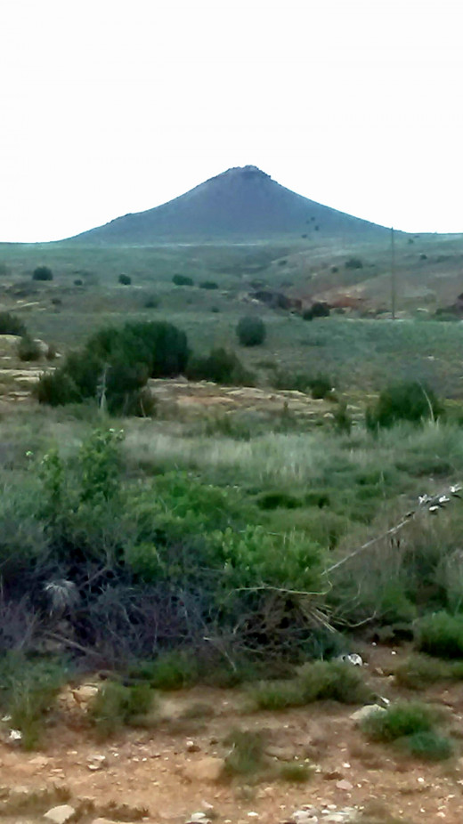 Two Buttes mountain