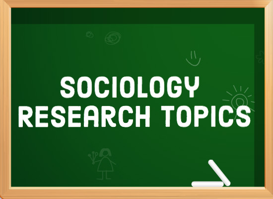 sociology writing topics