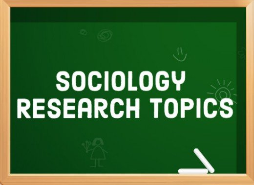 interesting sociology topics